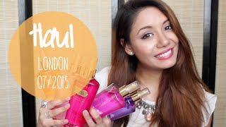 [Haul n°11] Very BIG Haul Londres juillet 2015 : Zara, Victoria's Secret, Primark, Maquillage...