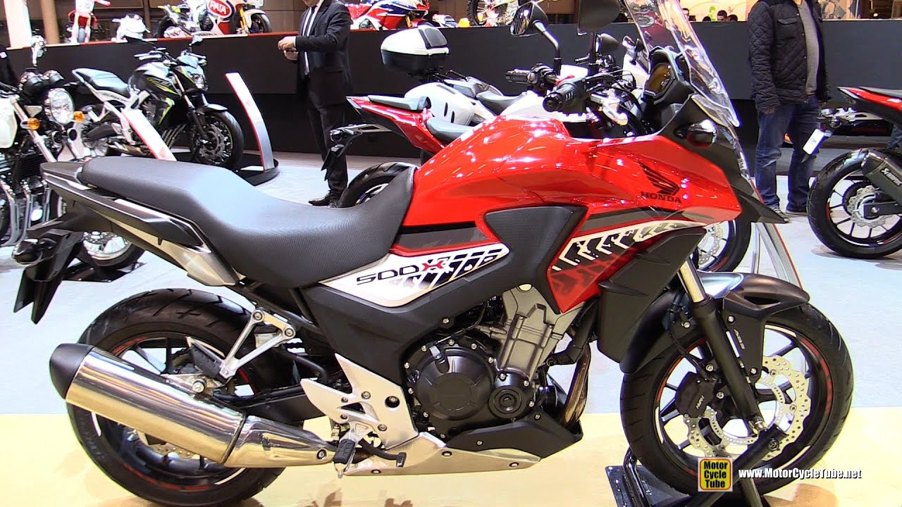 2016 honda cb500x walkaround 2015 salon de la moto. Black Bedroom Furniture Sets. Home Design Ideas