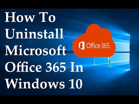how-to-uninstall-microsoft-office-365-in-windows-10