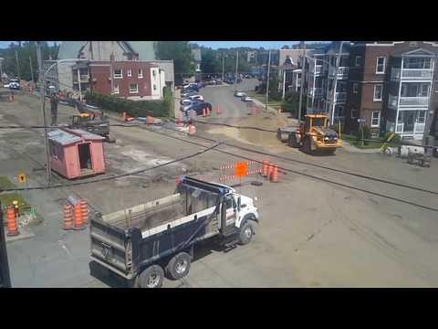 Travaux de la rue Celanese, juin, partie 1, 2017