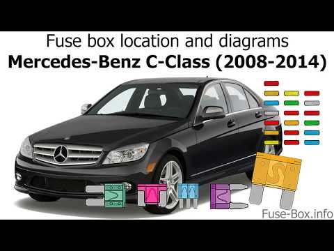 Fuse Box Location And Diagrams Mercedes Benz C Class 2008