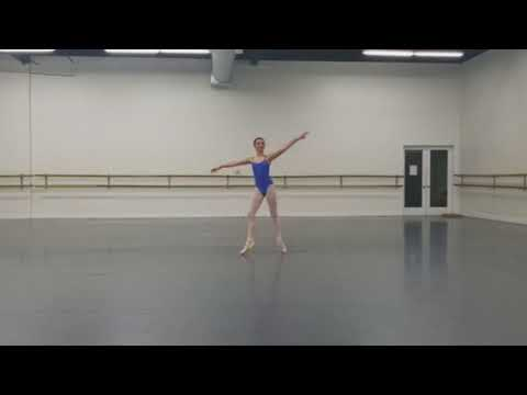 Tia Wenkman - Age 14 - Flames Of Paris Variation