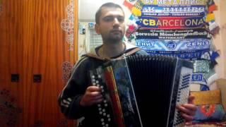 Еврейская мелодия Хава Нагила (hava nagila) на баяне