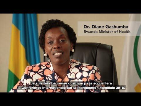 2018 ICFP Welcome Video featuring Minister of Health of Rwanda Diane Gashumba