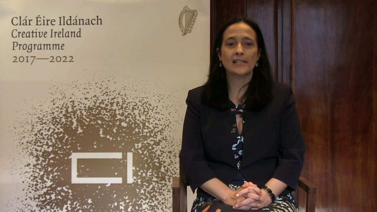 Minister Catherine Martin announces new Creativity in Older Age Programme