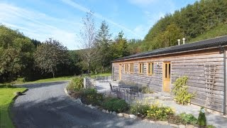 Cosy Log Cabin in the Mid Wales Countryside