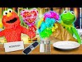Kermit the Frog and Elmo's Valentines Day Surprise!
