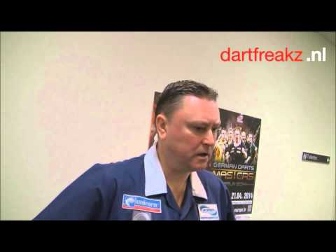 Interview Kevin Painter | Dutch Darts Masters 2014 |