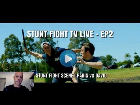STUNT FIGHT TV LIVE - EP02 | PARIS vs DAVID