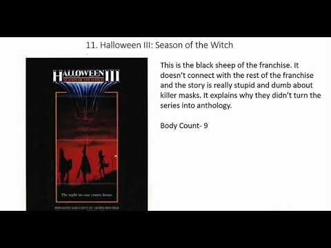 All 11 Halloween Movies Ranked (W/ Halloween 2018)