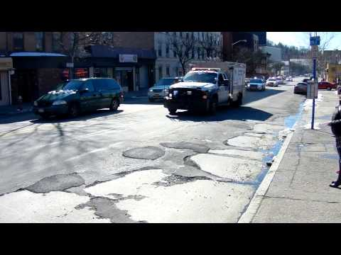 Yonkers NY - Shots ring out in yonkers New York. Gang War in progress. YPD response