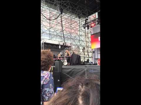 Rachel Platten - Congratulations (chorus only) LIVE