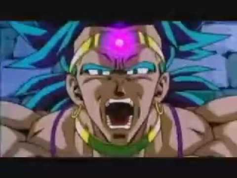 broly vs frieza cooler king cold - YouTube
