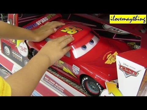 Checking Out Big Time Buddy Lightning McQueen - Disney's Cars