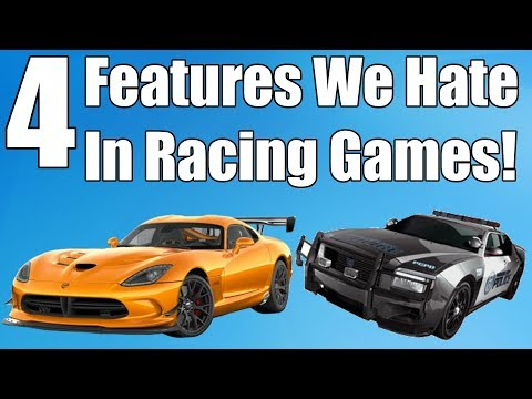 4 Racing Game Features We Hate!