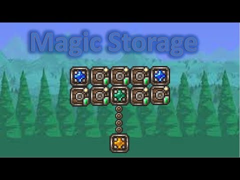 The Magic Storage Mod! | Mod Guide / Highlights