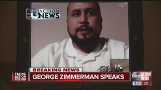 George Zimmerman speaks for first time since selling gun that killed Trayvon Martin