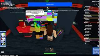 roblox having fun in red club!! high school! #just littel fun cx