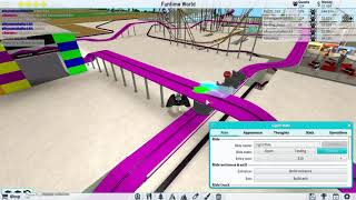 Roblox Theme Park Tycoon 2 Ep6 (New Park Monorail Line Building!)