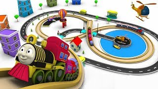Train for children - cartoon for kids - train cartoon - choo choo train - Toy Factory cartoon