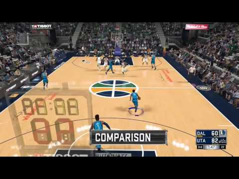 NBA 2K17 My League Dallas Mavericks Game 4 Utah Jazz vs Dallas Mavericks
