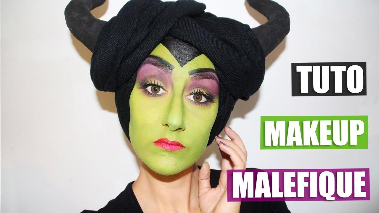 Tuto Maquillage Maléfique Halloween Youtube