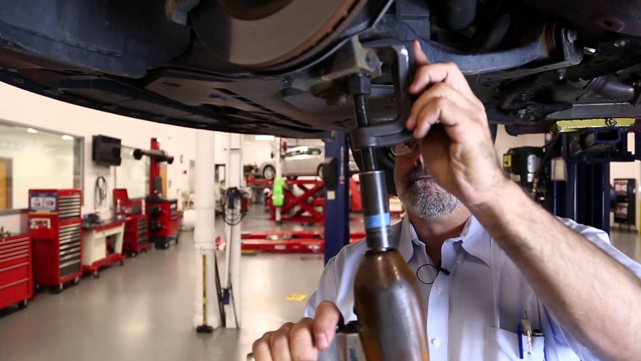 Ford Fusion Lower Ball Joint Removal Youtube