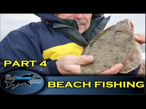 Beach fishing tips for beginners (Part 4) - Shore Plaice - The Totally Awesome Fishing Show