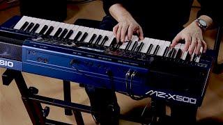 Casio MZ-X500 Arranger Keyboard Performance