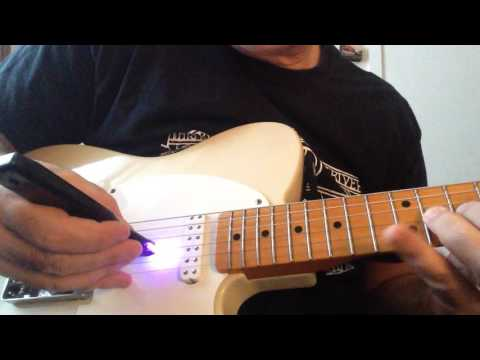 Playing with the Paul Vo Wond string exciter. thumbnail
