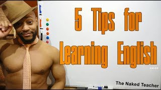 5 tips for learning English (Vocabulary)