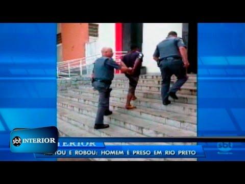 Homem é preso acusado de latrocínio após roubar carro