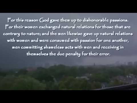 Lutherans Endorse Homosexuality God Sends Tornado!