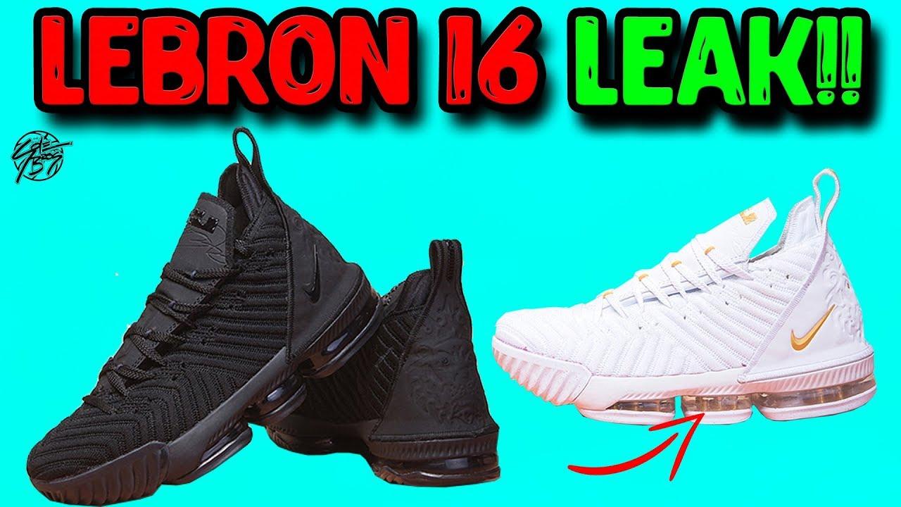 0468162db0c Nike Lebron 16 LEAK! - YouTube