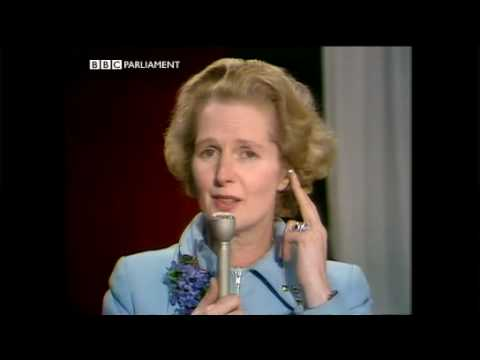 February 1974 General Election Chipping Barnet plus interview with Margaret Thatcher