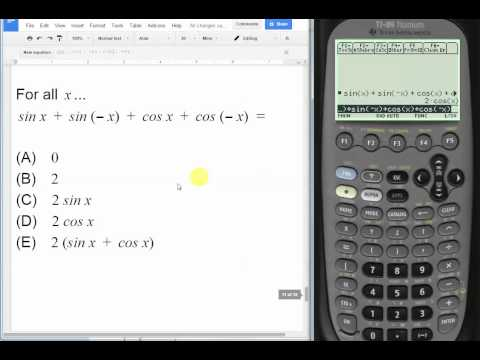 Simplifying Alge Ic Expressions On Ti Anium Calculator