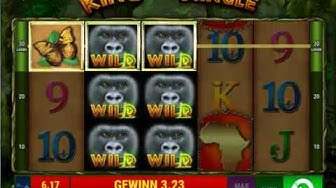 King of the Jungle online spielen - Bally Wulff / Merkur Spielothek