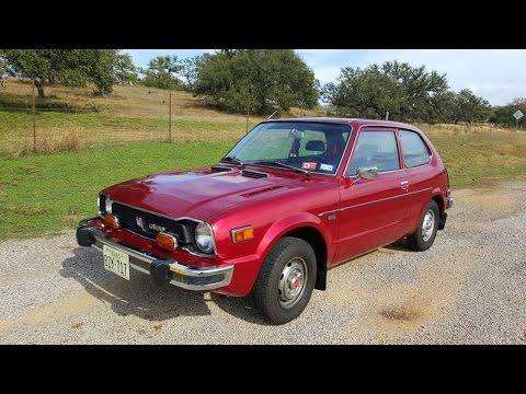 1977 Honda Civic CVCC Hatchback Classic Car Vintage