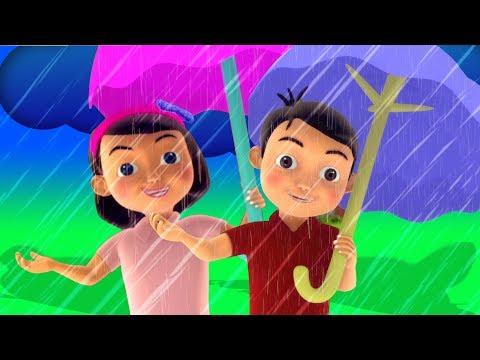 Pani Barsa Cham Cham | पानी बरसा छम छम छम | Hindi Poems | Kids Tv India | Hindi Nursery Rhymes