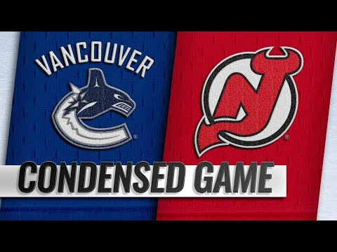 12/31/18 Condensed Game: Canucks @ Devils