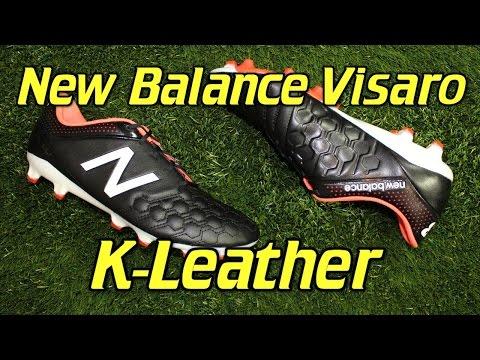 9a914a7e9fa86 New Balance Visaro K-Leather Black/White - Review + On Feet - YouTube