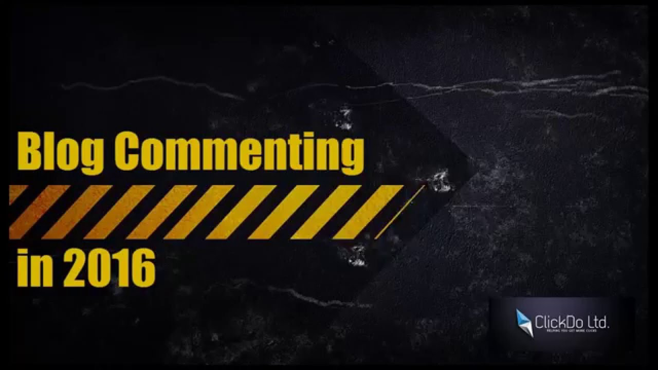 SEO Blog Commenting for your SEO Strategy in 2016 by Logesh Kumar