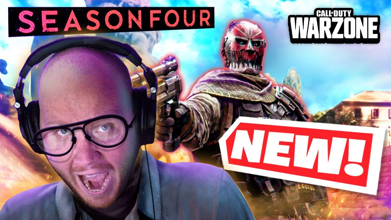 EVERYTHING *NEW* IN WARZONE SEASON 4! (BATTLEPASS, MG82, PATCH NOTES & POI's)