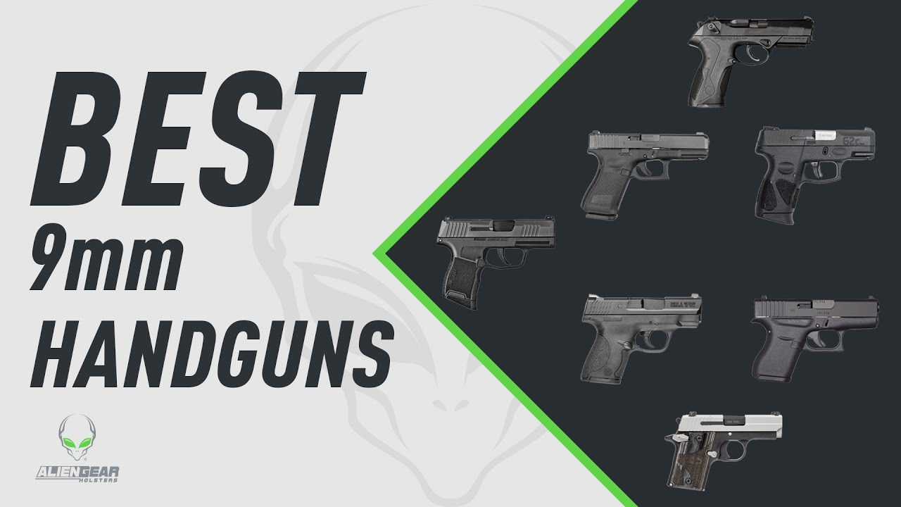 7 Best 9mm Pistol Models For Concealed Carry - Alien Gear Holsters