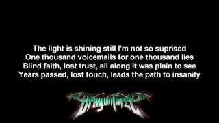 DragonForce - No More ft. Matt Heafy | Lyrics on screen | Full HD