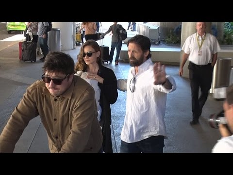 Creative Couple, Carey Mulligan And Marcus Mumford Arrive In LA With Their Newborn