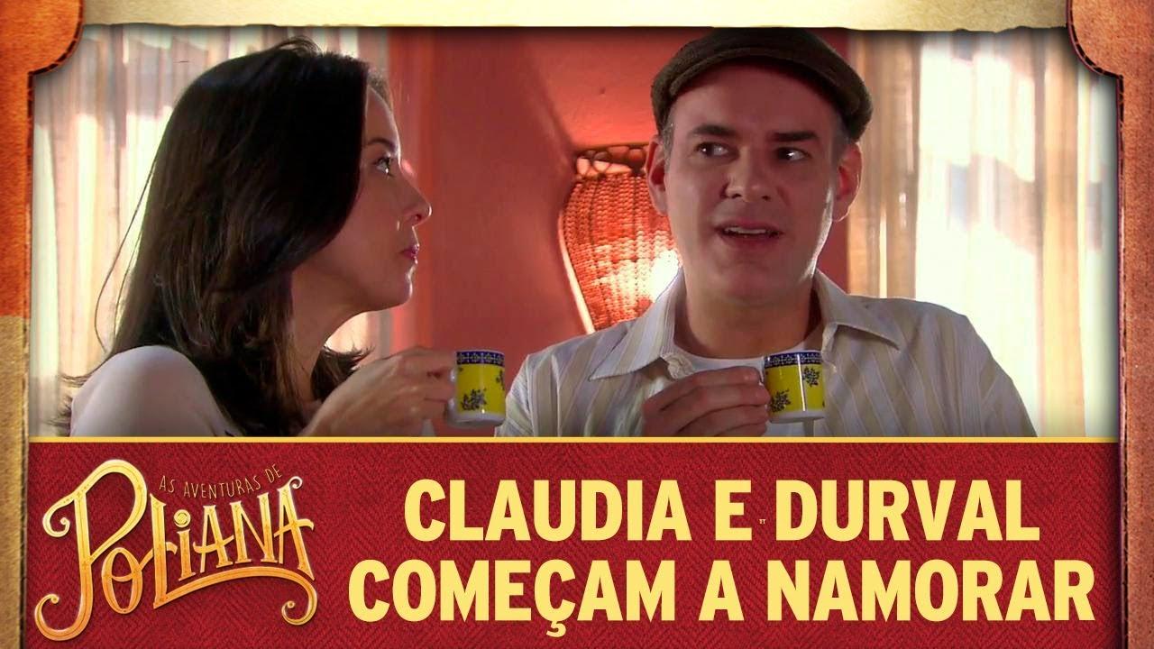 Claudia e Durval começam a namorar | As Aventuras de Poliana