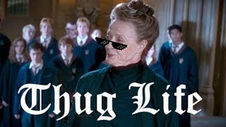 ♕ professor mcgonagall || thug life