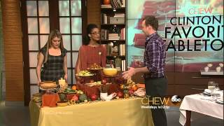 The Chew: Thanksgiving Tips - Buffet Set Up