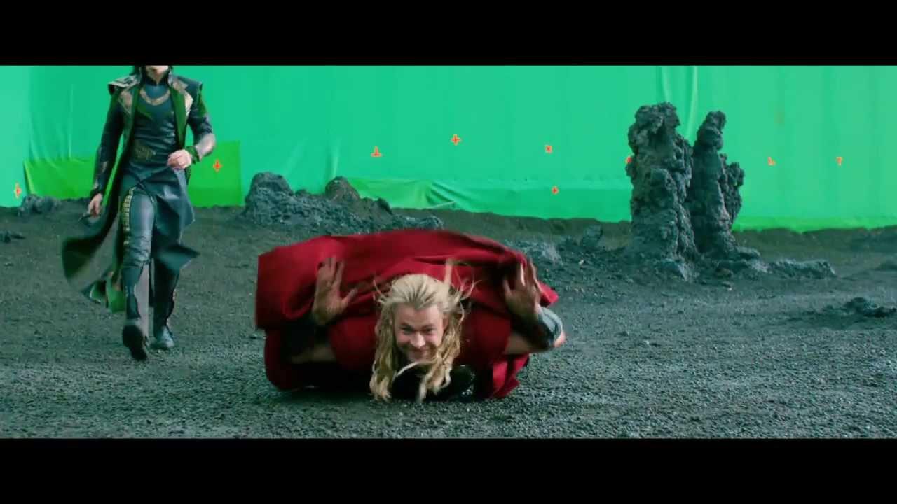 Thor The Dark World Gag Reel - OFFICIAL Marvel   HD